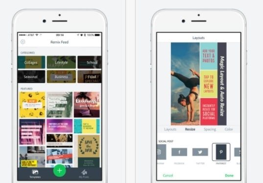 apps-para-instagram-stories-adobespark