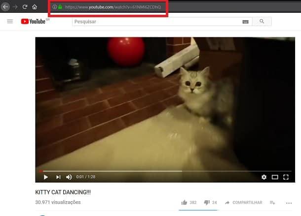 como baixar vídeos do youtube no PC