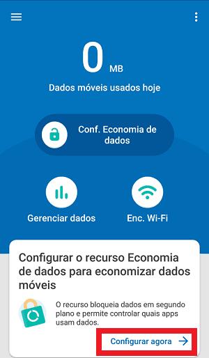 configurar datally