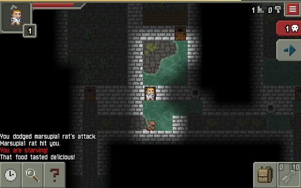 jogos-android-pixel-dungeon