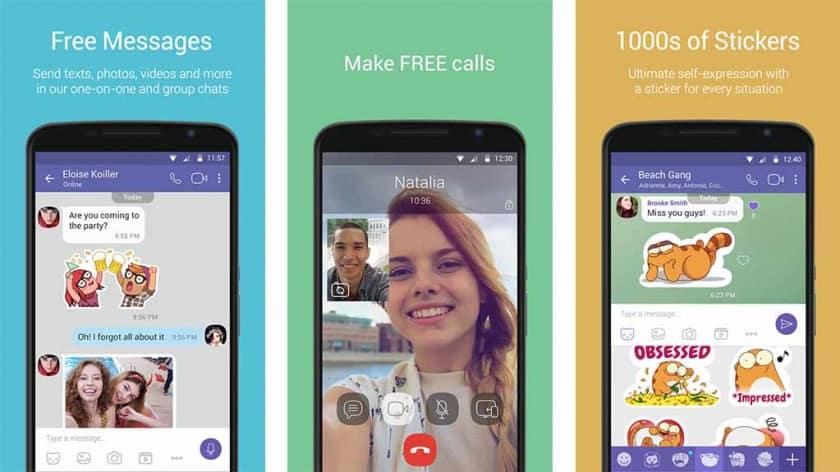 aplicativos de mensagens viber