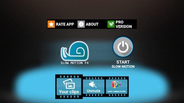 apps de vídeo em slow motion fx