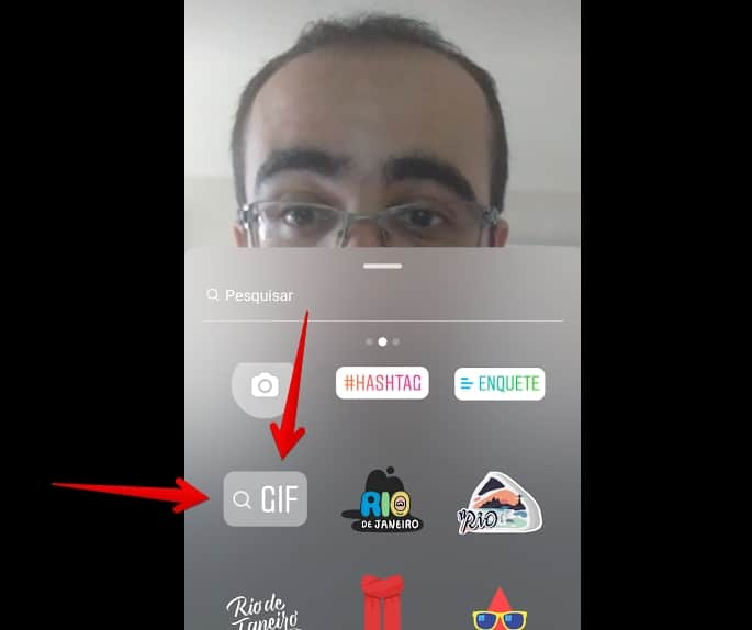 gif nas stories do instagram gif