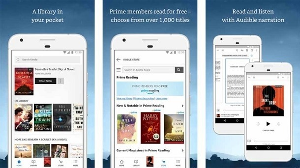 Kindle manga apps for Android