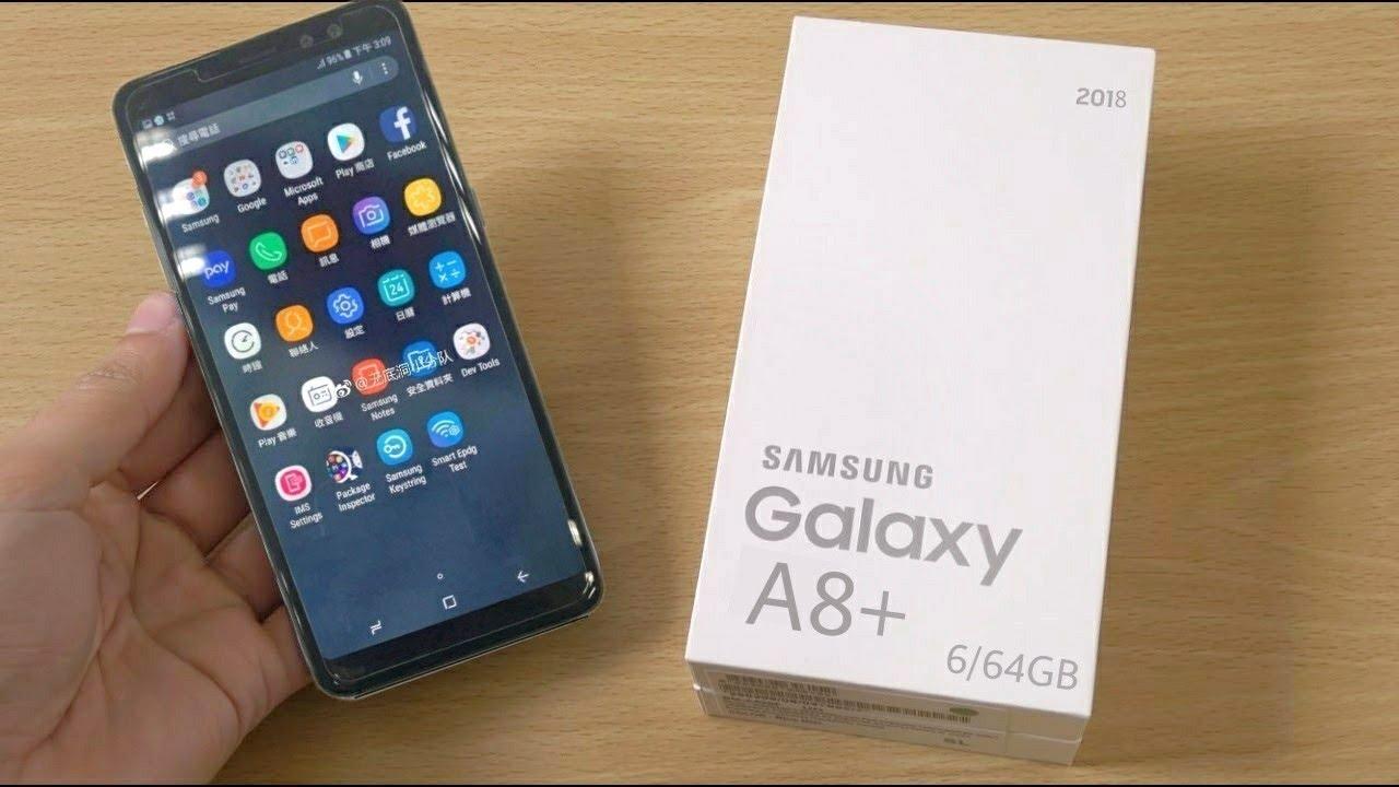 novo galaxy a8+