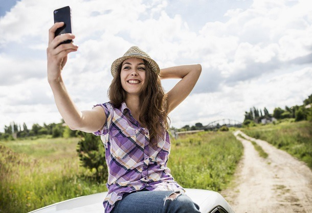 selfies no android