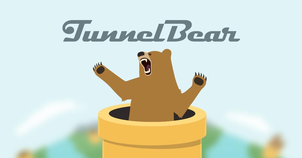 TunnelBear best free iPhone apps