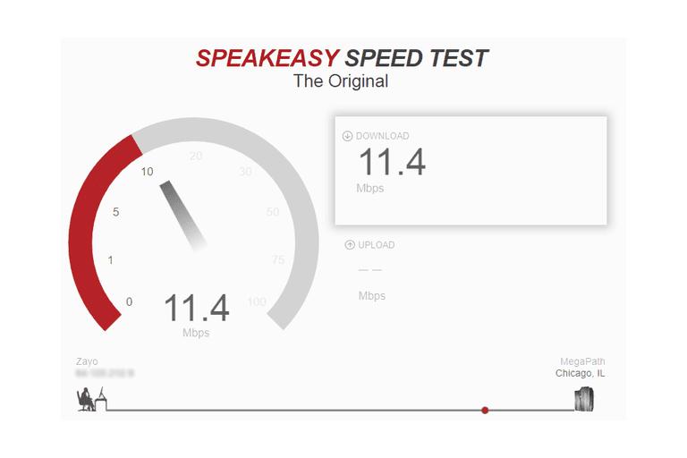 testar a velocidade da internet