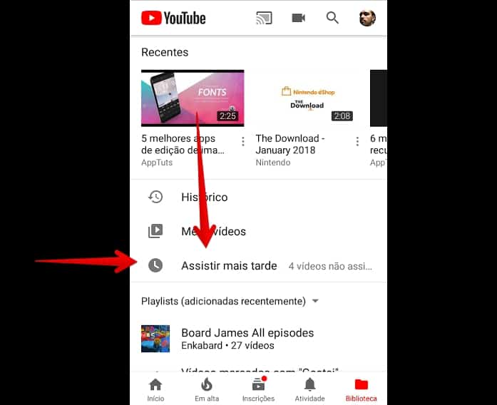youtube-para-android-assistirtarde