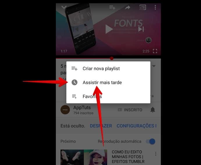 youtube-para-android-maistarde