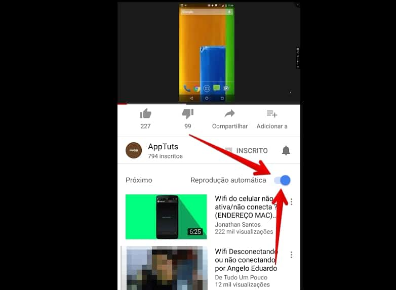 youtube-para-android-reproducaoautomatica
