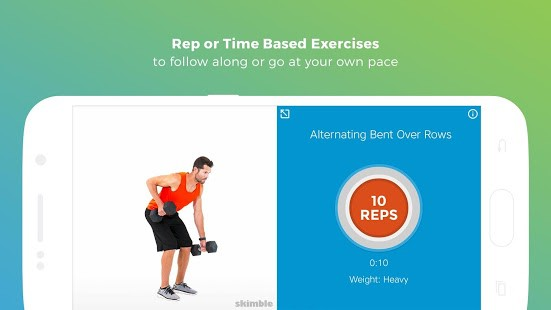 aplicativos fitness para android