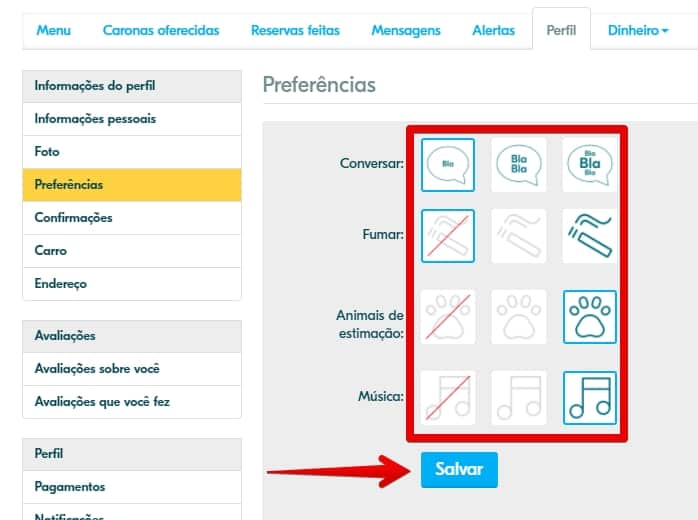 blablacar-preferencias