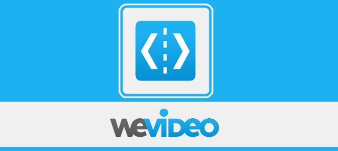 aplicativos para edição de videos wevideo