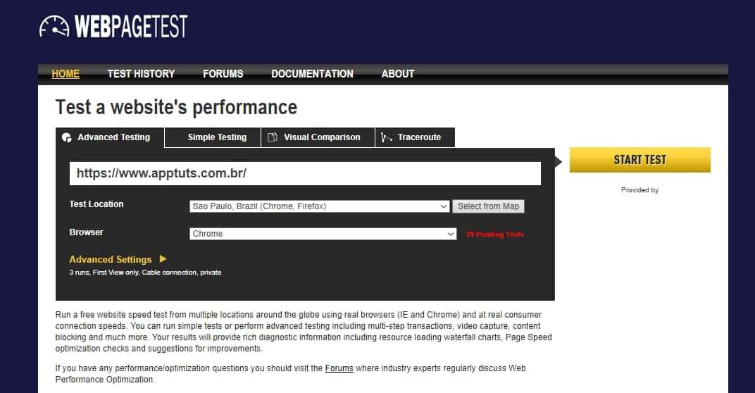 ferramentas-essenciais-para-sites-webpagetest