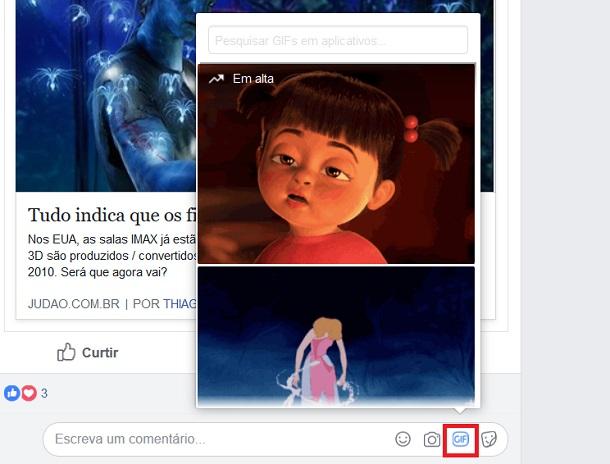 gifs no facebook