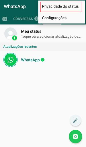 status do whatsapp