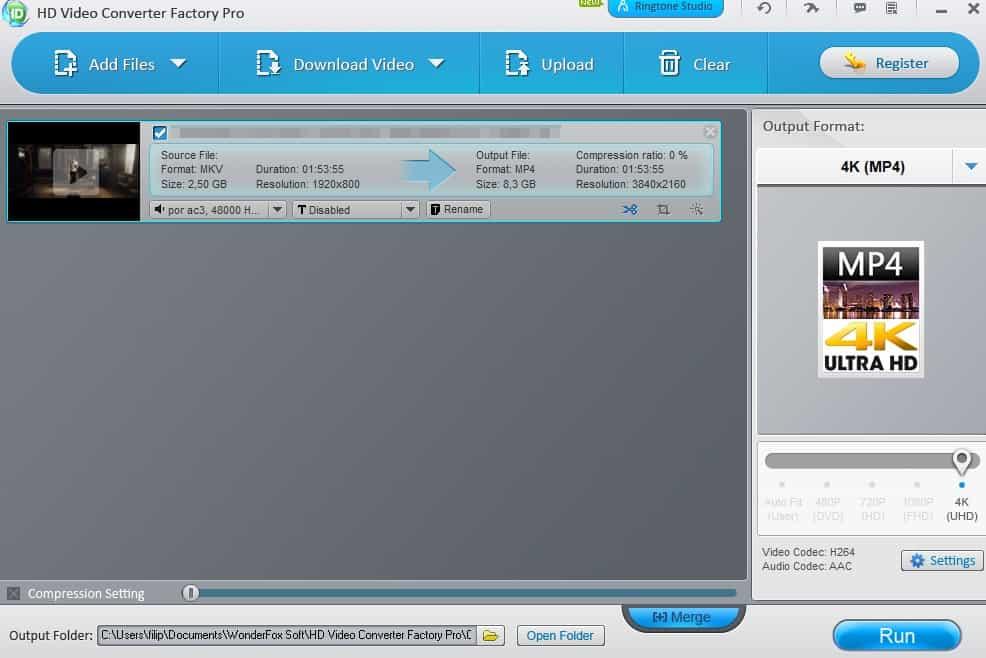 WonderFox HD Video Converter Factory Pro dicas