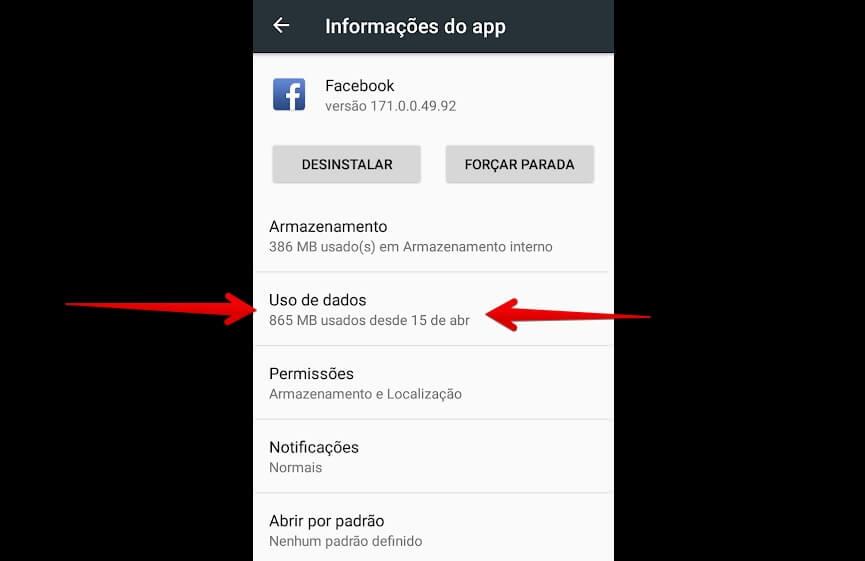 app-do-facebook-dados