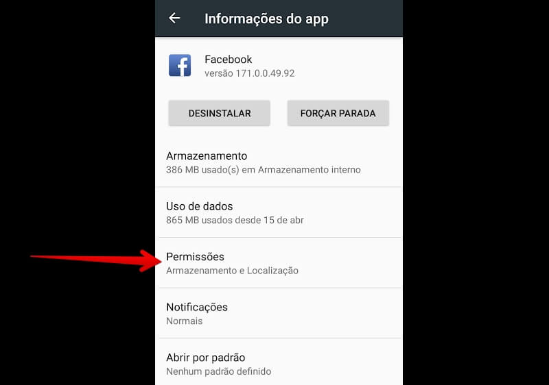 app-do-facebook-permissoes
