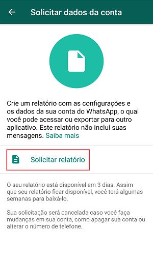 dados do whatsapp