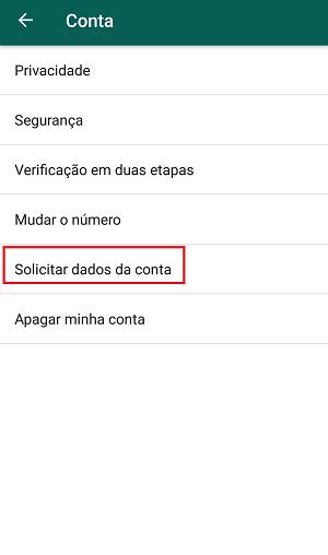 whatsapp conta