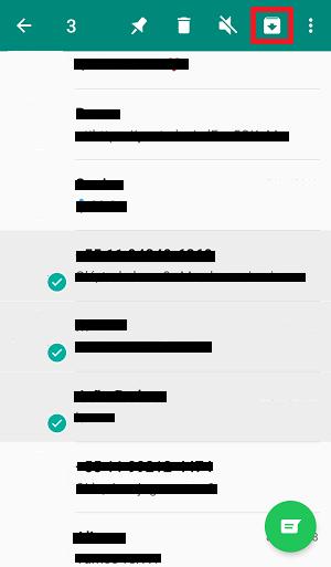 arquivar conversas do whatsapp