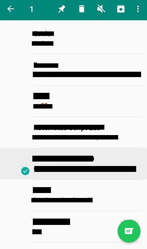 como esconder conversas do Whatsapp