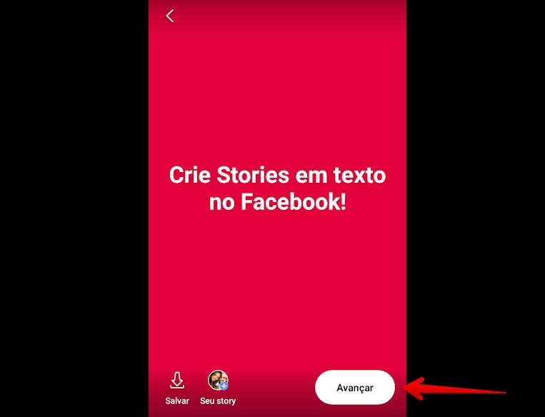 criar-stories-de-texto-no-facebook-avancar