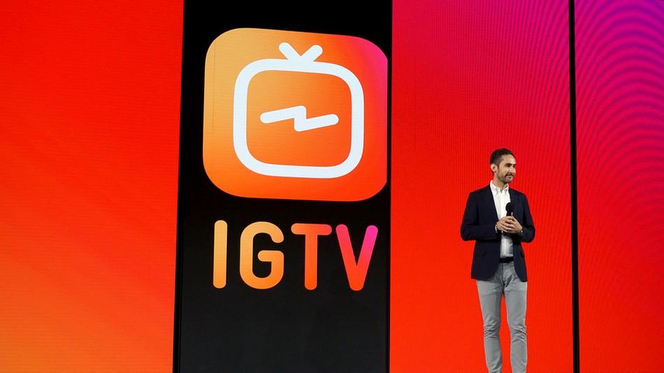 fazer vídeos no IGTV
