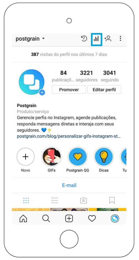 aumentar seu engajamento no instagram insights