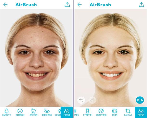aplicativos-clarear-dentes-android-airbrush