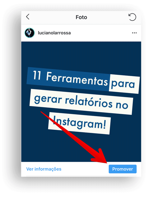 faça anúncios pagos no Instagram