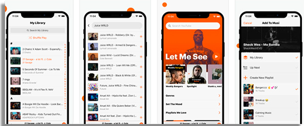 apps de musica para iphone musi
