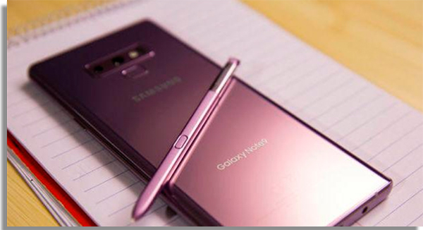 celulares android galaxy note 9