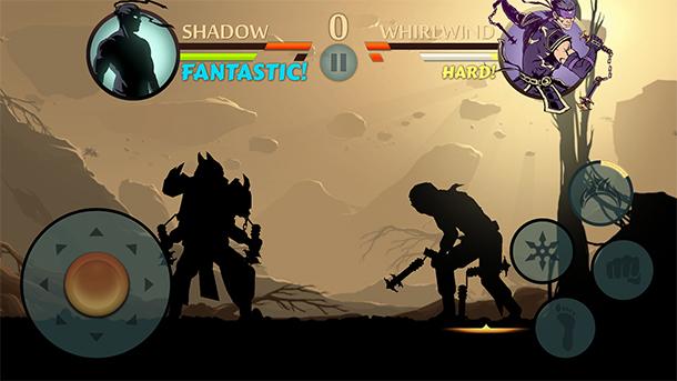 Jogo offline Shadow Fight 2