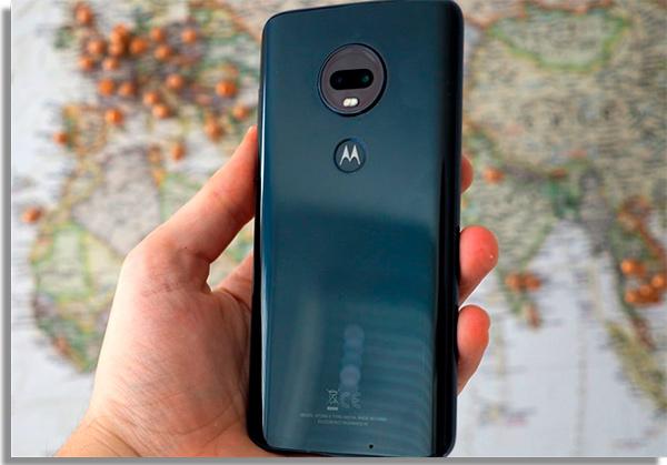 smartphone android motog7