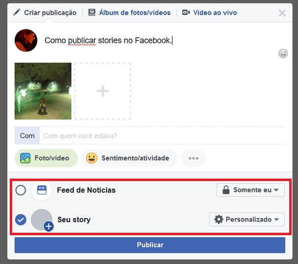 postar-facebook-stories-no-pc-seustory