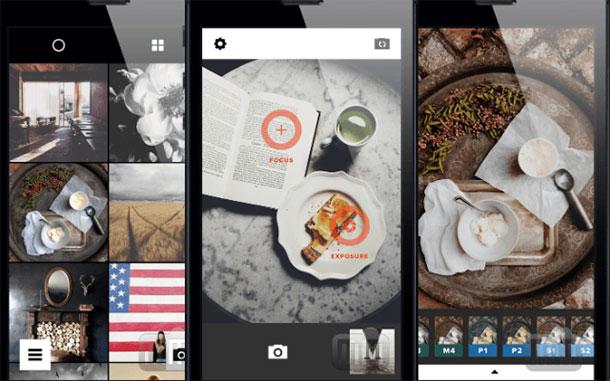 o vsco melhora suas imagens e serve como rede social