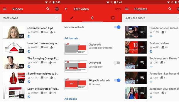 aplicativos-para-youtubers-youtubestudio