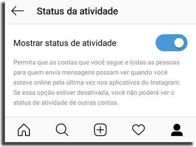 Instagram Direct Não Aparecer Online 2