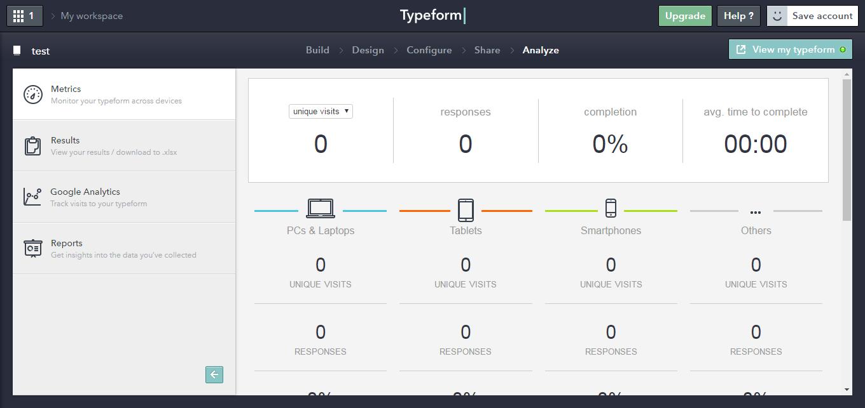 TypeForm best form builder tools