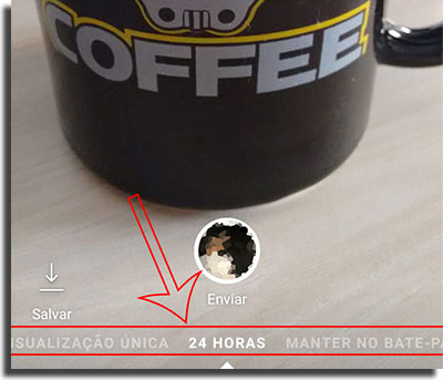 Instagram Direct Fotos Excluídas Automaticamente