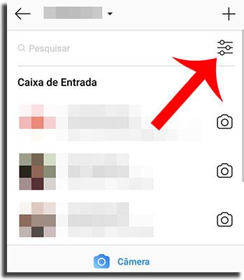 Instagram Direct Filtrar Mensagens 1