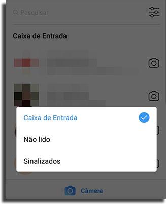 Instagram Direct Filtrar Mensagens 2
