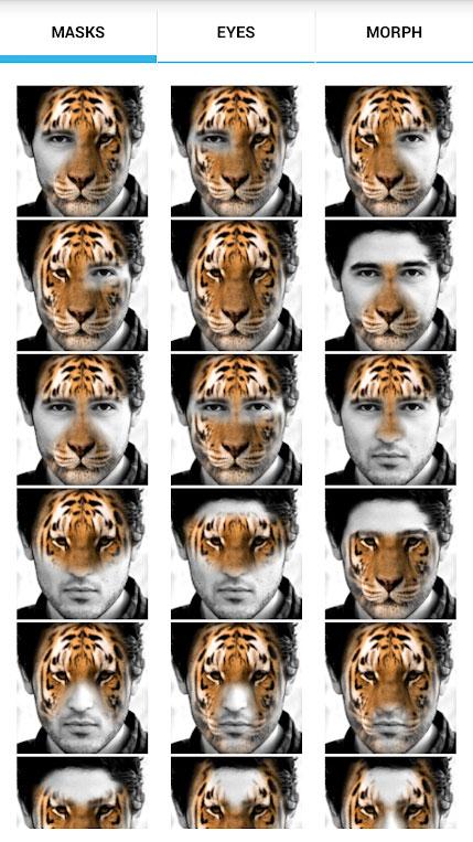 Aplicativos esquisitos de câmera Animal Faces