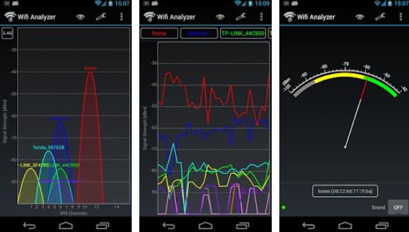 aplicativos para descobrir senha de WiFi no Android analyzer