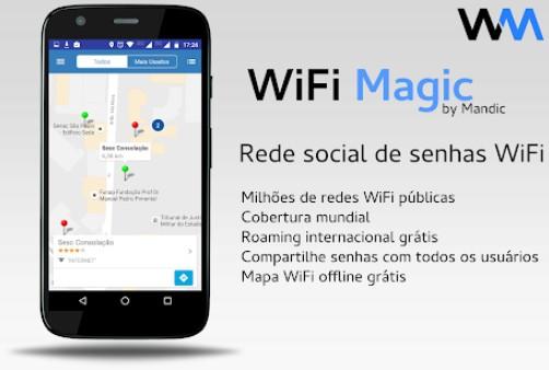 aplicativos para descobrir senha de WiFi no Android magic