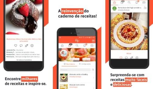 apps de receitas culinarias pip