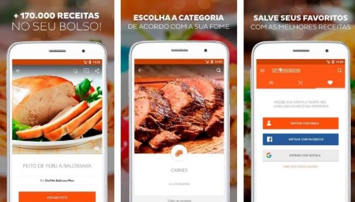 apps de receitas culinarias tudo gostoso